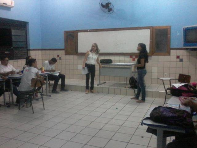 Desmatamento e cuidados com o lixo. Escola Rui Barbosa. Juazeiro-BA. 08-04-2016