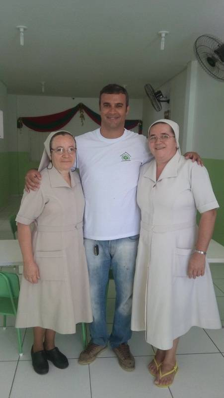Atividade lúdica sobre hortas - Nova Semente (José e Maria) - Petrolina-PE - 01.12.15