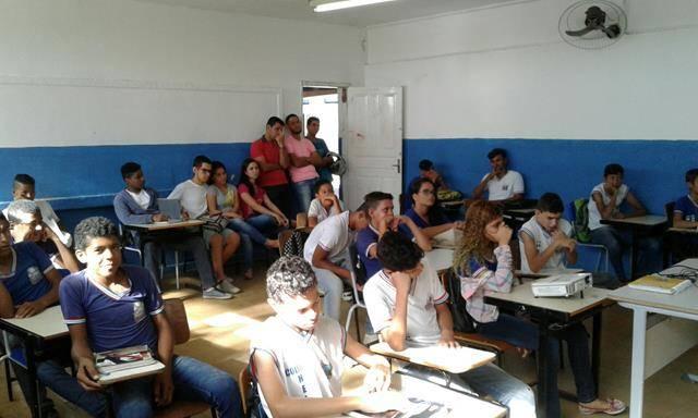 Horta Escola Agroecológica. Escola Helena Celestino. Juazeiro-BA. 20-05-2016