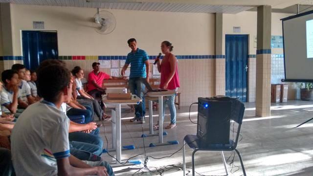 Horta Escola Agroecológica. Escola N11. Petrolina-PE. 20-05-2016