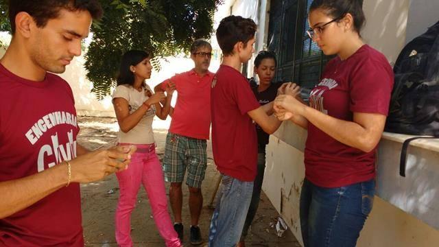 Horta Escola Agroecológica. Escola Rui Barbosa. Juazeiro-BA. 13-05-2016