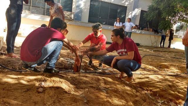 Horta Escola Agroecológica. Escola Rui Barbosa. Juazeiro-BA. 20-05-2016