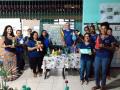 Atividade Reciclagem. Colégio Estadual Américo Símas. Lauro de Freitas-BA. 04 e 05/03/2020.