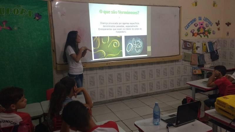 Atividades de saúde Ambiental com foco nas verminoses. Juazeiro, BA (5.12).