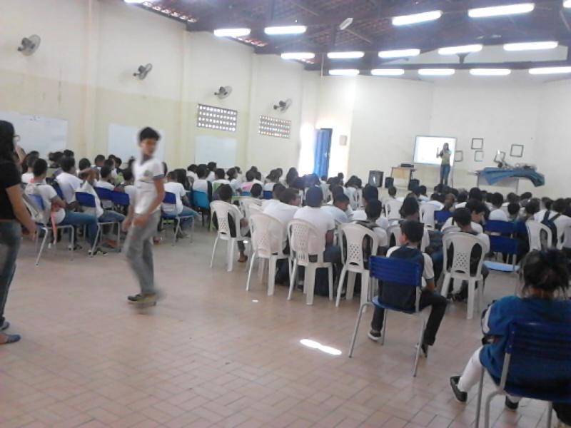 Atividade de alimentação saudável - Escola Eduardo Coelho - Petrolina-PE - 20.08.15