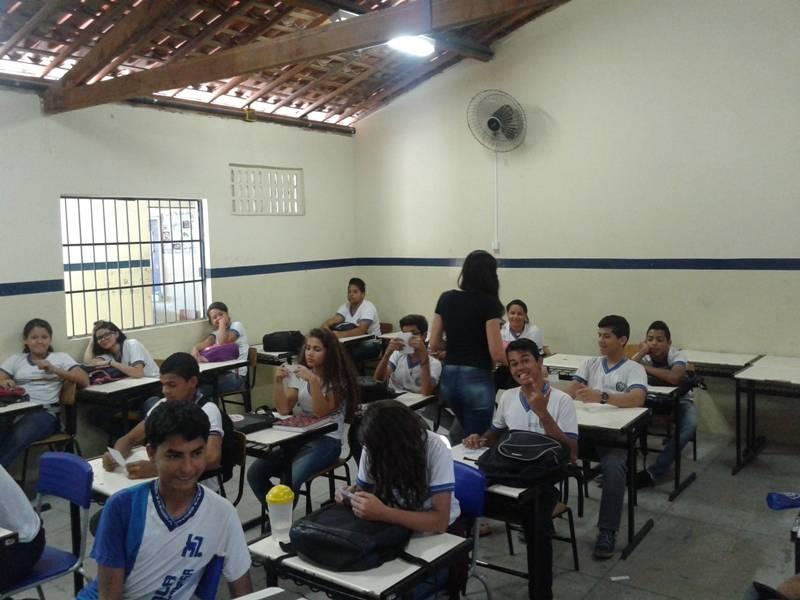 Atividade sobre saúde ambiental - Escola Moysés Barbosa - Petrolina-PE - 24.08.15