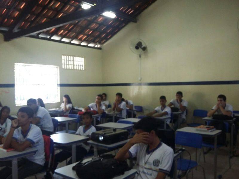 Atividade sobre vida sustentável - Escola Moysés Barbosa - Petrolina-PE - 21.08.15