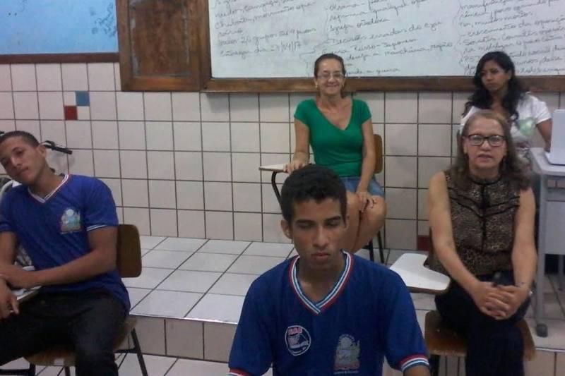 Atividades de Saúde Ambiental. Escola Rui Barbosa. Juazeiro-BA. 19/04/2017.
