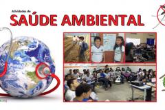 Atividades de saúde ambiental movimentam escolas