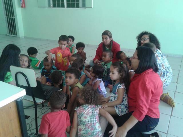 Saúde Ambiental. Escola Unidade de Acolhimento Marcelo Brito. Petrolina-PE. 05-08-2016