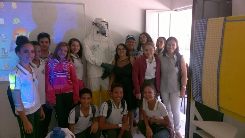 Atividades sobre cuidados e perigos dos agrotóxicos. Centro Educacional de Sobradinho-BA. 30/05/2017.