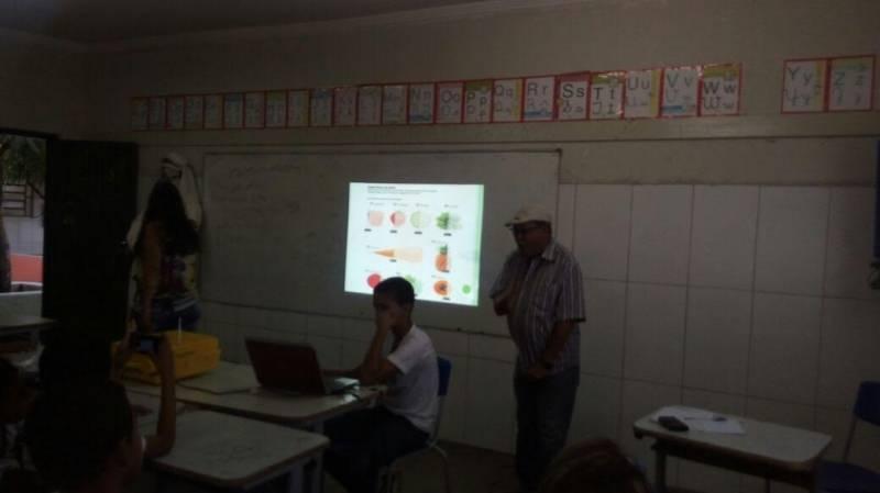 Atividades sobre cuidados e perigos dos agrotóxicos. Escola Mandacarú. Juazeiro-BA. 24/05/2017