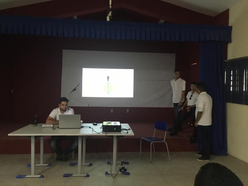 Apresentação do PEV. Escola Osa Santana de Carvalho. Petrolina-PE. 21/02/2019