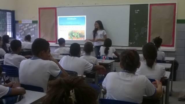 Atividade sobre plantas medicinais - Escola Estadual Antônio Cassimiro - Petrolina-PE - 19.02.16