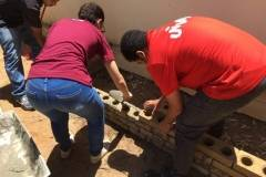 Bloco Solo-Cimento é instalado em horta de escola em Juazeiro