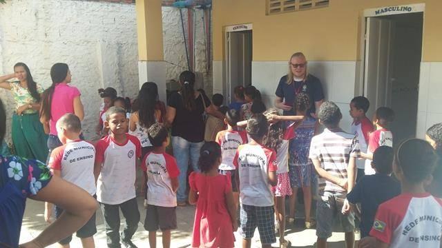 Atividades de Saúde Ambiental. Escola Joca de Souza Oliveira. Juazeiro-BA. 16-04-2016