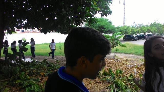 Atividades de Saúde Ambiental. Escola Clementino Coelho. Petrolina-PE. 14-04-2016