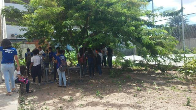 Atividades de Saúde Ambiental. Escola Dom Malan. Petrolina-PE. 11-04-2016