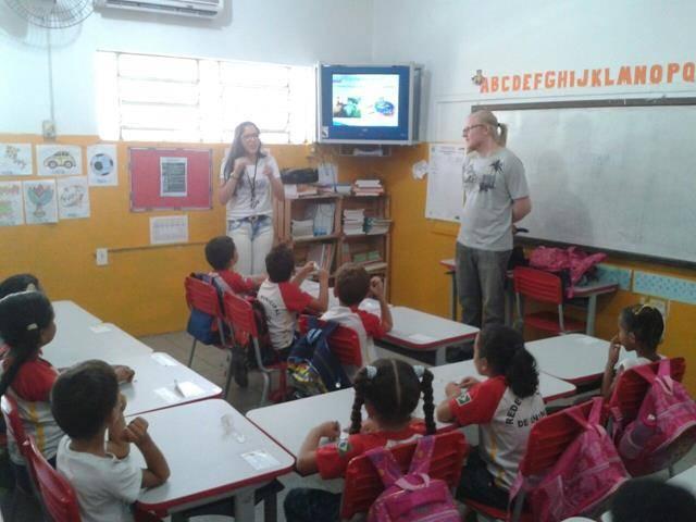 Atividades de Saude Ambiental. Escola Nossa Senhora das Grotas. Juazeiro-BA. 06-04-2016