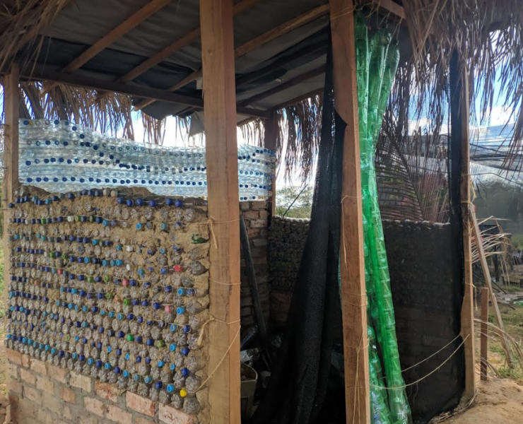 Atividade construção sustentável. CCA-UNIVASF. Petrolina-PE. 21/06/2019-22/07/2019