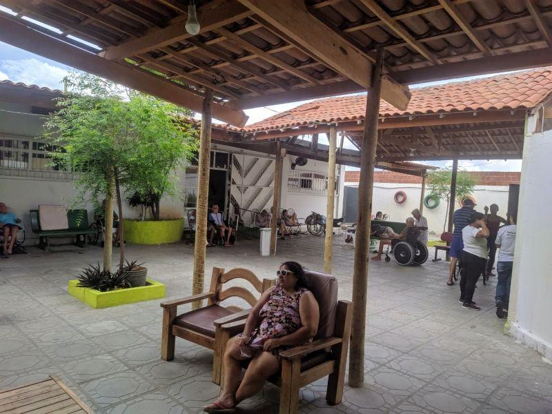 Atividade Mobilização Socioambiental. Lar de Idosos Cantinho do Aconchego. Petrolina-PE. 05/02/2020.