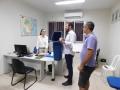 Entrega de coletores de papel foi no dia 6.07 na cantina, restaurante, CRAD e nas salas administrativas e técnicas dos laboratórios no campus do CCA.