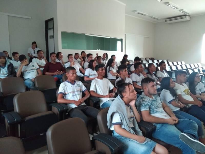 Visita técnica ao CEMAFAUNA. Escola Dom Malan. Petrolina-PE. 21/05/19.