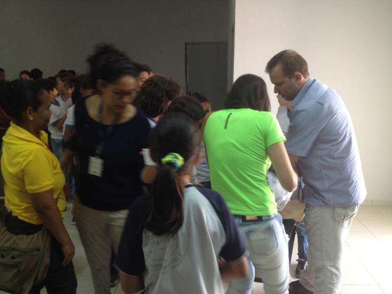 Visita técnica a Codevasf - Colégio Simão Pedro - Petrolina-PE - 01.09.15