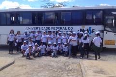 CODEVASF recebe visita de escola mobilizada pelo PEV