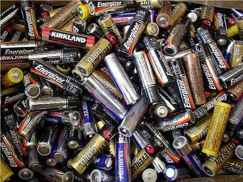 Coleta de pilhas e bateriais - Univasf(Juazeiro-BA) - 28.11.15
