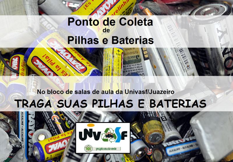 PONTO DE COLETA DE PILHAS