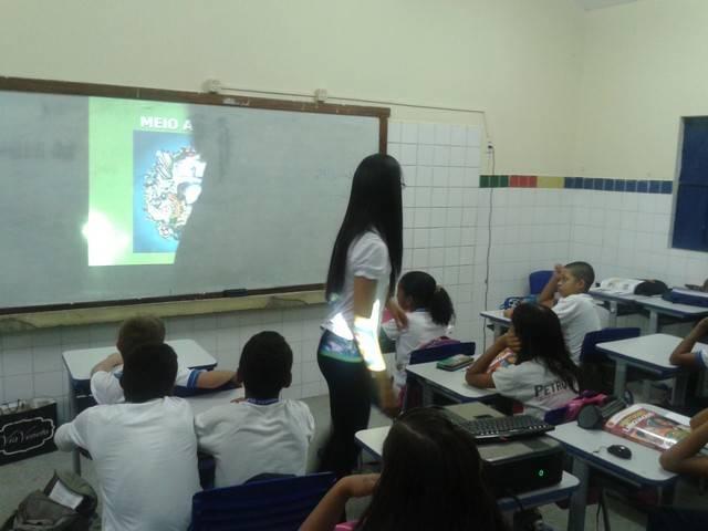 Atividade de Coleta Seletiva - Escola Dimão Durando - Petrolina-PE - 09.03.16