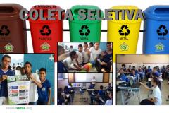 Coleta seletiva mobiliza alunos e professores