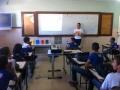 Atividades de Coleta Seletiva. Escola Helena Celestino. Juazeiro-BA. 22-09-2016