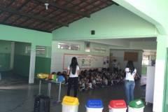 Coleta seletiva nas escolas