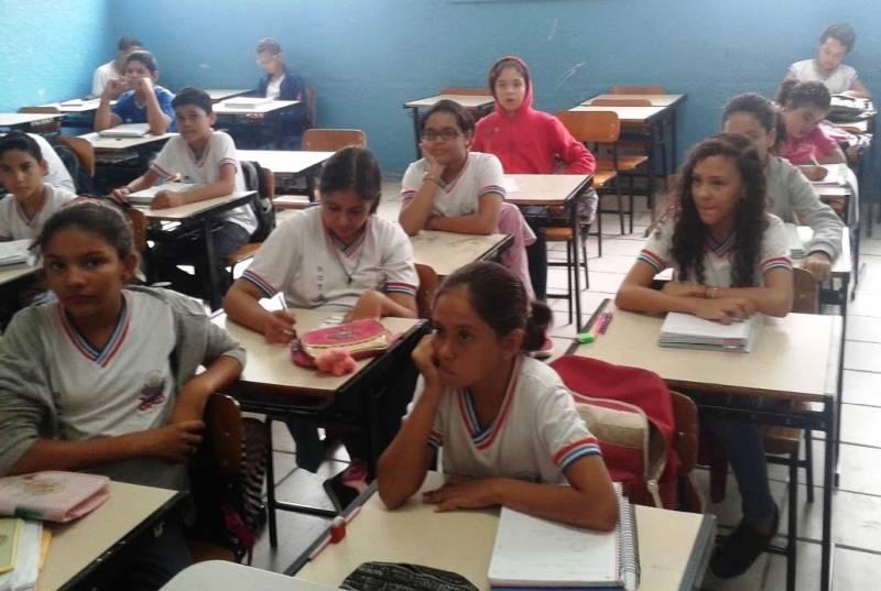 Atividades de Coleta Seletiva. Escola Rotary Club. Juazeiro-BA. 04/05/2017.