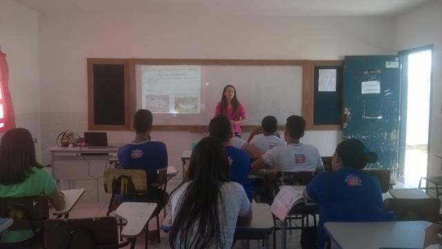 Saúde Ambiente. Escola Agostinho Muniz. Juazeiro-BA. 27-04-2016