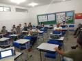 Atividade Compostagem. Escola Professora Julia Elisa. Petrolina-PE. 08/11/2019.