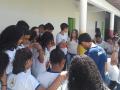 Construção Sustentável mobilizou cerca de 100 alunos da escola municipal Eliete Araújo. Atividade dos dia 14 e 19.04 teve palestras e oficinas.