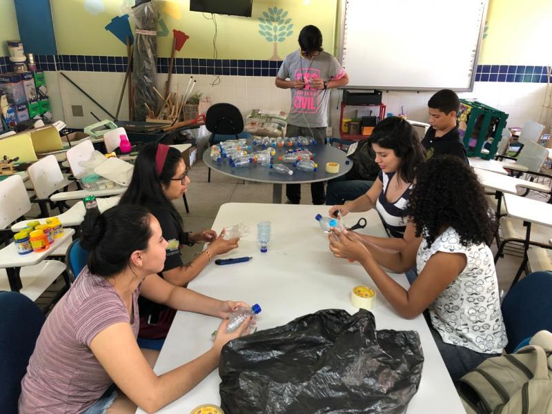 Atividade Construção Sustentável. UNIVASF Campus Juazeiro. Juazeiro-BA. 06/08/2019-22/08/2019