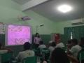 Atividade de Plantas Medicinais com 21 alunos da Escola Municipal Professora Eliete Araújo de Souza, em Petrolina (PE), no dia 17.08.