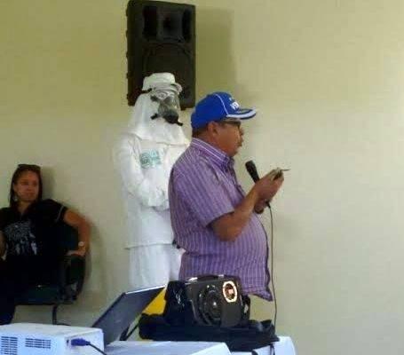 Atividades sobre cuidados com os Agrotóxicos. Escola Olavo Ferreira Neto. Juazeiro-BA. 05/06/2017.