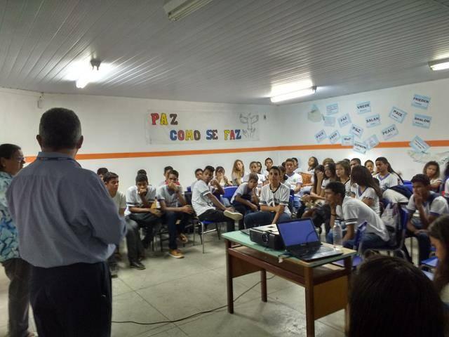 Cuidados com os recursos hídricos. Escola Moyses Barbosa. Petrolina-PE. 03-06-2016