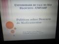 Atividade sobre descarte adequado de medicamentos. Colégio da Polícia Militar. Juazeiro-BA. 15/03/2019.