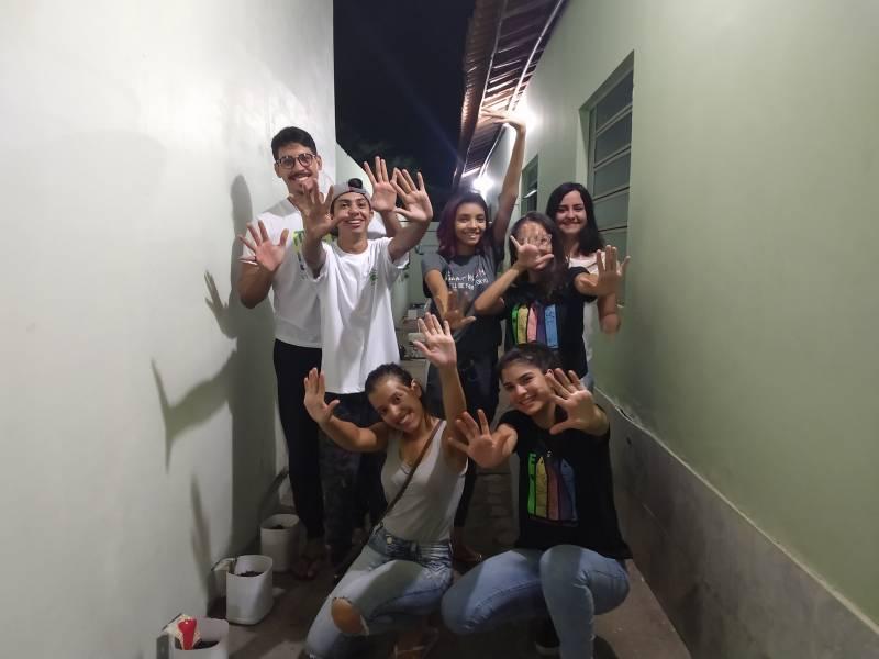 Atividade Horta Agorecológica. ONG Sementes do Amanhã e Casa de Passagem Bom Samaritano. Petrolina-PE. 28/11, 16/12 e 17/12/2019.
