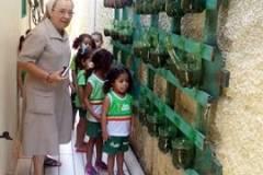 Desenvolvimento de horta escolar agroecológica