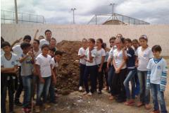 Desenvolvimento, manutenção e ampliação de hortas escolares agroecológicas