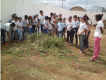 Atividades de Horta Escolar Agroecológica. Escola Mandacarú. Juazeiro-BA. 18/05/2017.