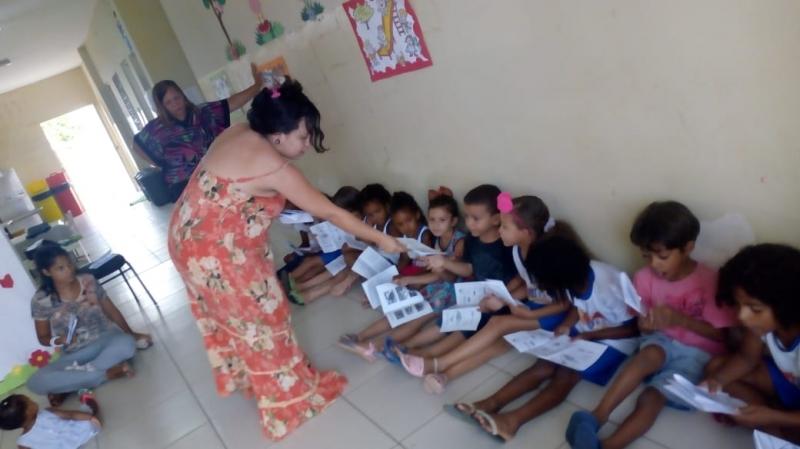 Atividade recursos hídricos. Escola Dilma Calmon. Juazeiro-BA. 21/03/2019.
