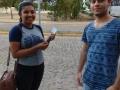 Atividade Mobilização Ambiental. UNIVASF campus Juazeiro. Juazeiro-BA. 22/03/2019.